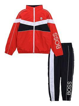 boss-boys-colourblock-track-suit-redbluenavy
