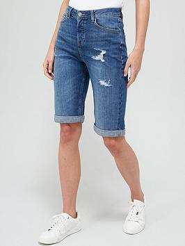 v-by-very-taylor-boyfriend-denim-short-dark-wash
