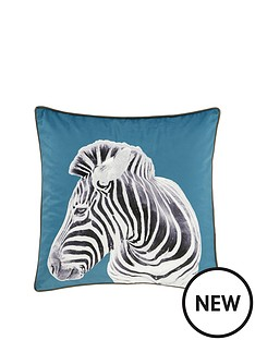catherine-lansfield-zebra-filled-cushion-55x55