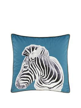 catherine-lansfield-zebra-filled-cushion-55x55