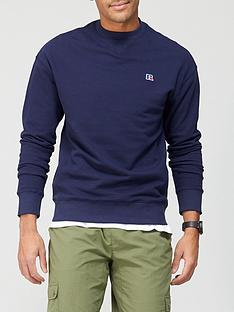 russell-athletic-frank-crew-sweat-top-navy
