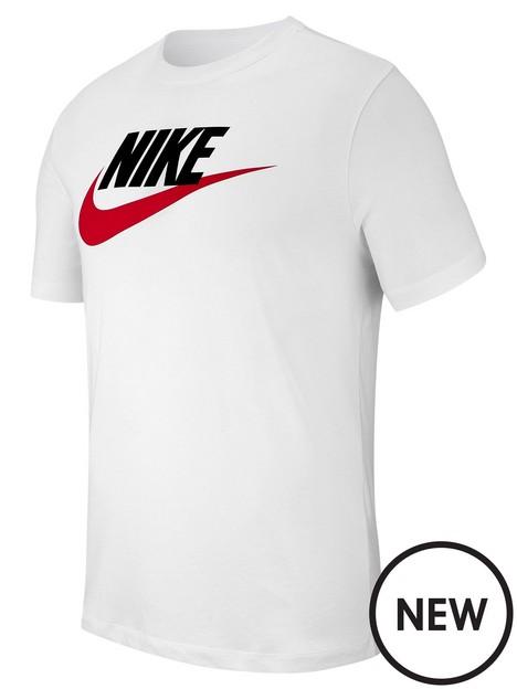 nike-plus-sizenbspnswnbspicon-futura-t-shirt-whiteblackred