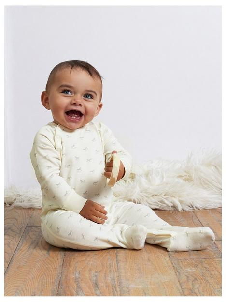 the-little-tailor-unisex-baby-super-soft-jersey-sleepsuit-cream