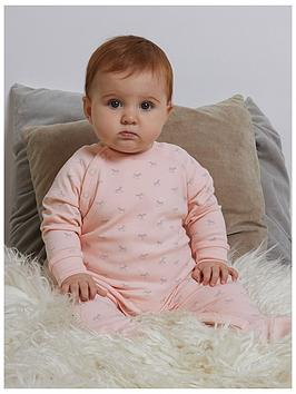the-little-tailor-baby-girls-super-soft-jersey-sleepsuit-peach
