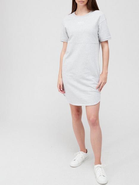 armani-exchange-100-cotton-logo-t-shirt-dress-grey