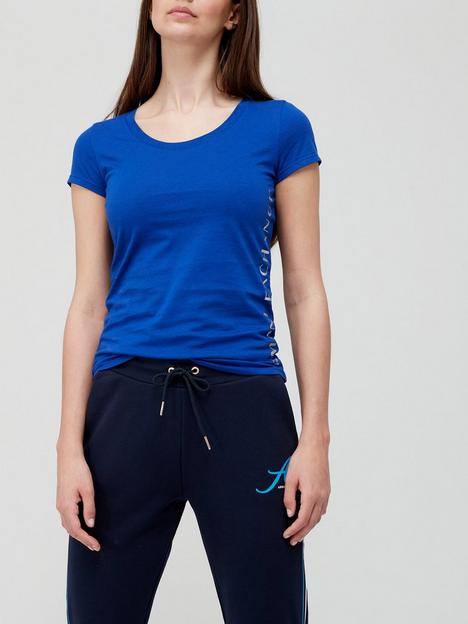 armani-exchange-logo-t-shirt-blue