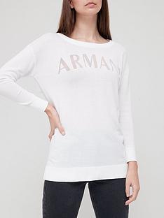 armani-exchange-long-sleeve-logo-t-shirt-white
