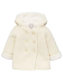 the-little-tailor-unisex-baby-pram-coat-plush-lined-cream