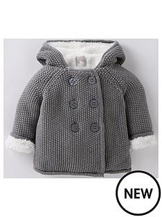 the-little-tailor-unisex-babynbspplush-lined-pram-coatnbsp--charcoal