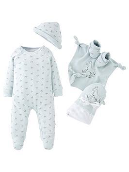 the-little-tailor-baby-boys-super-soft-jersey-sleepsuit-hat-blanket-blue