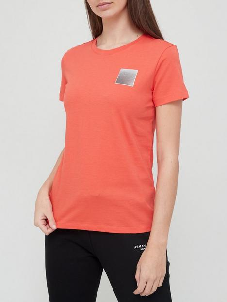 armani-exchange-logo-t-shirt-red