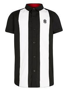 river-island-boys-colour-block-short-sleeve-shirt--nbspnavy