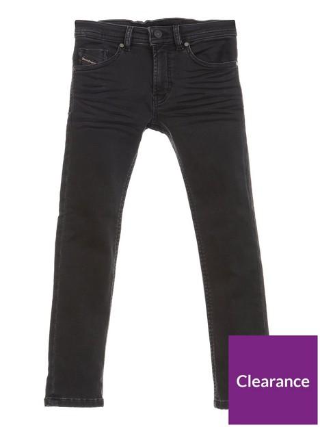 diesel-boys-thommer-slim-fit-stretch-jean-black