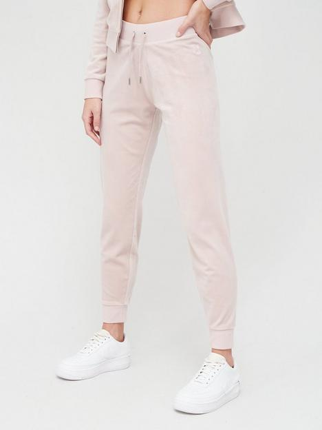 juicy-couture-velour-cuffed-jogger-grey