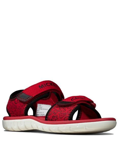 clarks-surfing-glove-kid-sandal-red