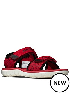 clarks-surfing-glove-kid-sandal-red