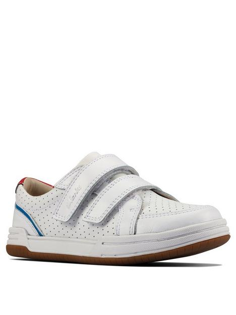 clarks-fawn-solo-kid-trainer-white