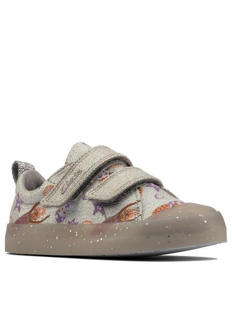 clarks-clarks-foxing-print-toddler-mermaid-canvas-shoe