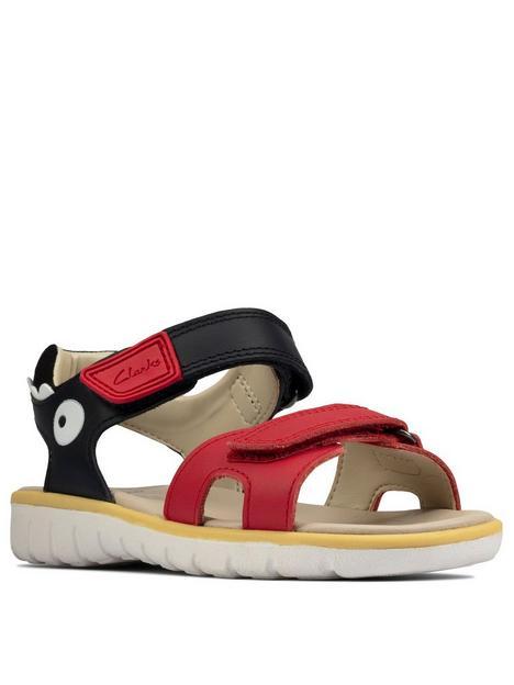 clarks-roam-scale-kid-shark-sandal-navyred