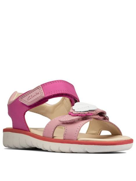 clarks-roam-shell-kid-sandal-pink