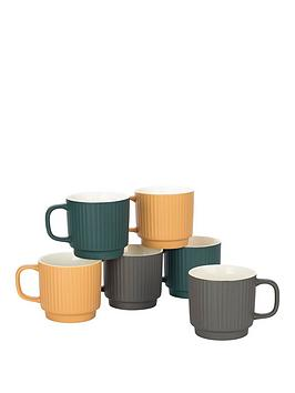 set-of-6-sanctuary-textured-mugs