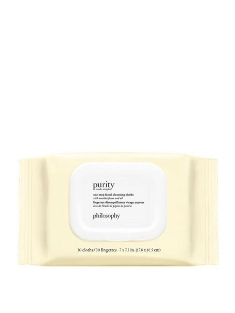 philosophy-purity-cleansing-3-in-1-biodegradable-wipes-x30