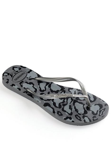 havaianas-slim-animals-flop-flop--nbspgreysilver