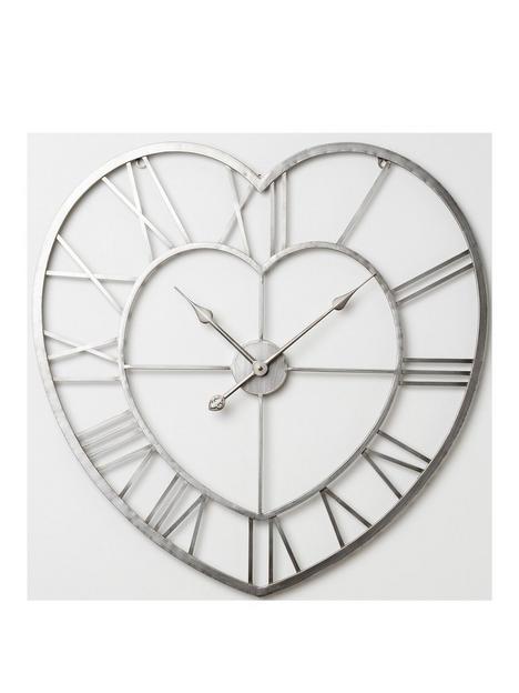 hometime-metal-heart-shaped-wall-clock