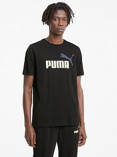 puma-essentials-2-colour-logo-t-shirt-black