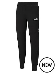 puma-amplified-fleece-pants-black