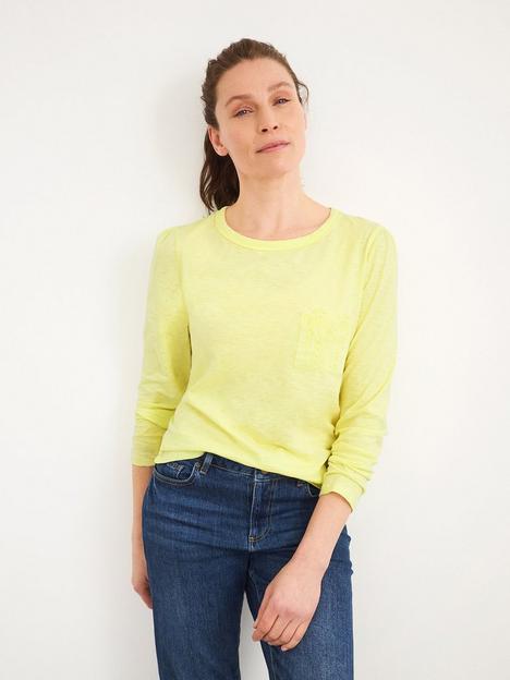 white-stuff-pocket-detail-long-sleeve-jersey-top-lemon
