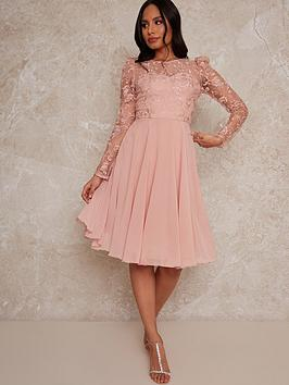 chi-chi-london-dorothee-dress-rose-goldnbsp