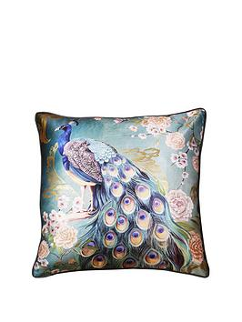 arthouse-opulent-peacock-cushion