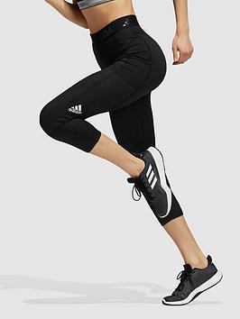 adidas-tech-fit-34-lace-camo-leggings-black