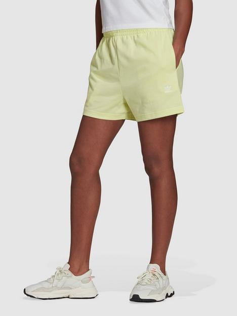 adidas-originals-shorts-yellow