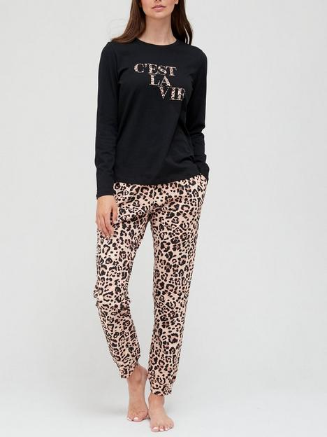v-by-very-long-sleeve-animal-print-cotton-pyjama-set--animalnbsp