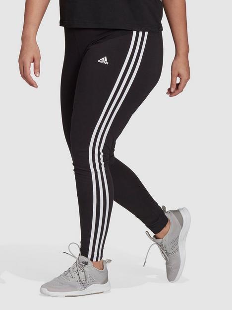 adidas-adidas-essentials-3-stripes-legging-plus-size