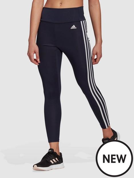 adidas-3-stripes-78-leggings-navywhite