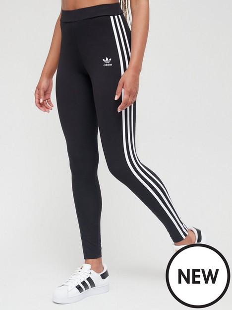 adidas-originals-3-stripes-leggings-black