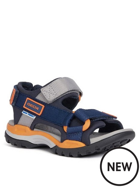 geox-boys-borealis-sandals-navyorange