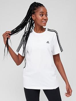 adidas-adidas-essentials-3-stripes-boyfriend-tee