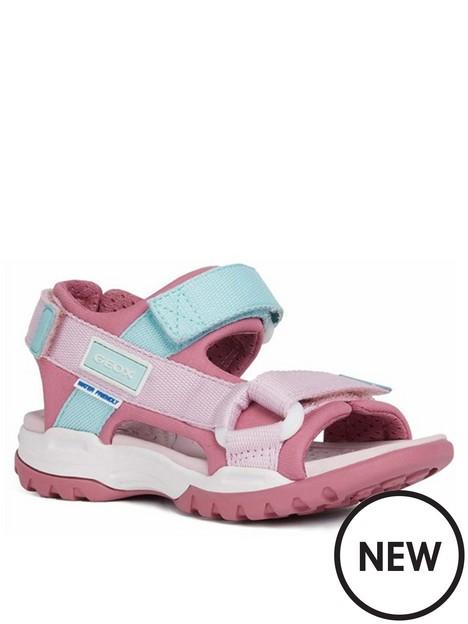 geox-girls-borealis-sandals-pink
