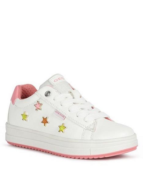 geox-girls-rebecca-star-trainers-whitepink