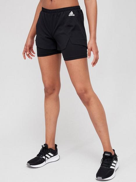 adidas-2-in-1-shorts-blackwhite
