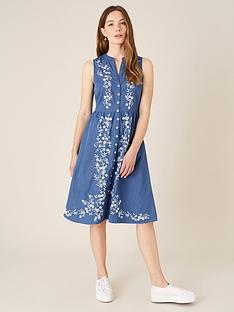 monsoon-embroidered-denim-dress