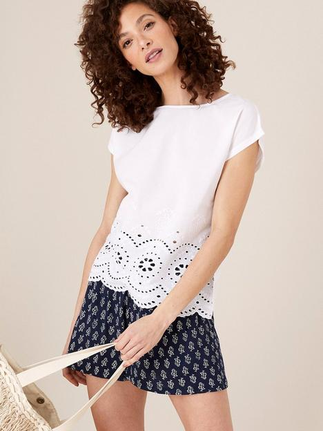 monsoon-lila-woven-front-tee-ivory