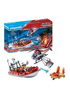 playmobil-playmobil-70335-fire-rescue-boat-and-helicopter