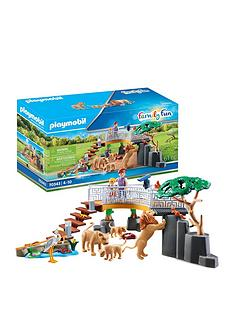 playmobil-playmobil-70343-family-fun-outdoor-lion-enclosure