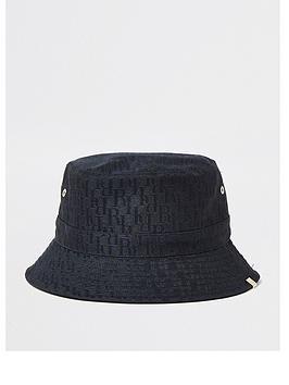 river-island-bucket-hat-black