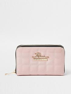 river-island-small-patent-quilted-ziparound-purse-pink